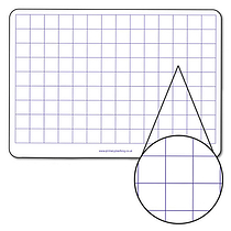 CM Squares Mini Whiteboards (A4)