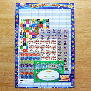 Newly Qualified Teacher Pack incl. 245 Stickers and more