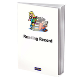 Children Themed 40 Page Reading Record Book
