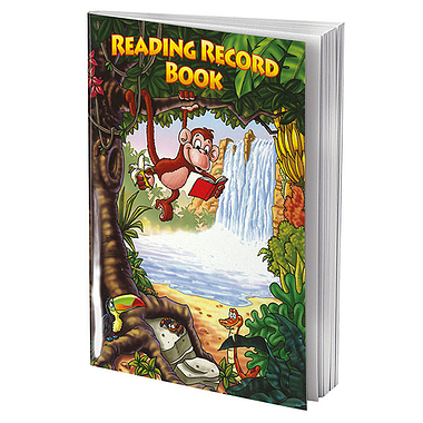 Jungle Themed 40 Page Reading Record Book