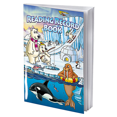 Reading Record Book | Polar Themed | A5 | 40 Pages