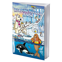 Polar Themed 40 Page Reading Record Book