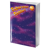 Reading Record Book - Superstar Reader (A5 - 40 Pages)