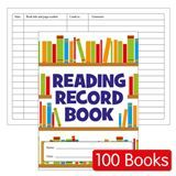Reading Record Books - Value (100 Books Included)