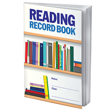 Value Range 32 Page Reading Record Book