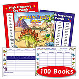 Box of 100 Dinosaur Themed 56 Page Spelling Record Book
