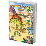 Dinosaur Themed 56 Page Spelling Record Book