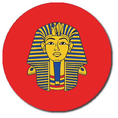 Personalised Pharoah Stickers (35 per sheet - 37mm)