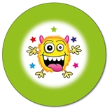 Customised Monster Stickers (35 per sheet - 37mm)