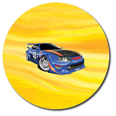 Personalised Car Stickers (35 per sheet - 37mm)