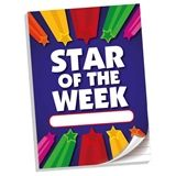 'Star of the Week' Lined A4 50 Page Notepad