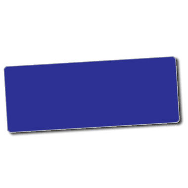 Personalised Blue Stickers (56 per sheet - 46mm x 16mm)