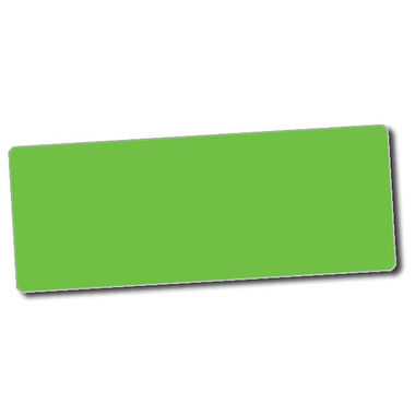 Personalised Green Stickers (56 per sheet - 46mm x 16mm)