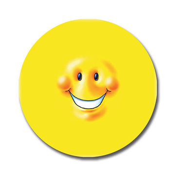 Personalised Smiley Face Stickers (70 per sheet - 25mm)