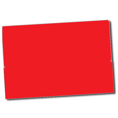 Text Only Stickers - Red (32 per sheet - 46mm x 30mm)