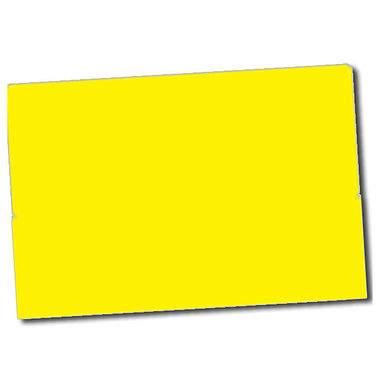Text Only Stickers - Yellow (32 per sheet - 46mm x 30mm)