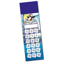 Set of 8 Personalised Polar Scene 59mm x 210mm Card Bookmark