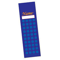 Set of 8 Personalised Diddi Dots 59mm x 210mm Card Bookmarks