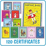 Pedagogs Mixed Pack of 120 A5 General Certificates