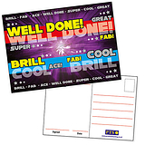 Positive Purple Metallic A6 Postcards x 20
