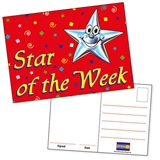 Star of the Week Postcards (20 Postcards - A6)