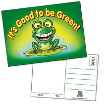 Pack of 20 Good to be Green A6 Postcards Home