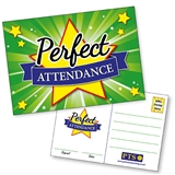 Perfect Attendance Postcards Home (20 Postcards - A6)