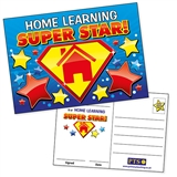 Home Learning Super Star Postcards (20 Postcards - A6)