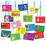 Pedagogs Pack of 14 Classroom Dangles