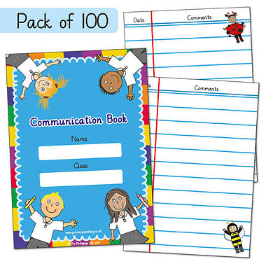 Pedagogs Home School Communication Book A6 x 100