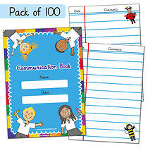 Box of 100 Pedagogs A6 Communication Book