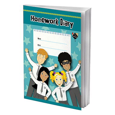 Homework Diary - Pedagogs (A5 - 80 Pages)
