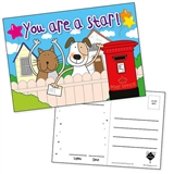 Glittery Pedagogs Postcards - You Are a Star! (20 Postcards - A6)