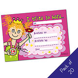 I tried so hard Certificates - Pedagogs - Girl (20 certificates - A5)