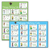 Pedagogs Marking Code Paper Poster - Double Sided (A2 - 620mm x 420mm)