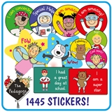 EYFS Pedagogs Stickers Value Pack (1445 Stickers)