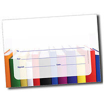 Personalised A5 Books Certificates Blank