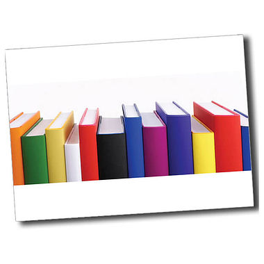 Personalised Books Postcard - White (A6)