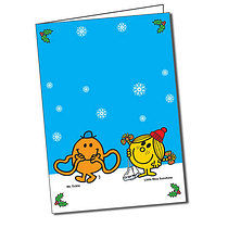 Personalised Mr Men & Little Miss A5 Christmas Greeting Card