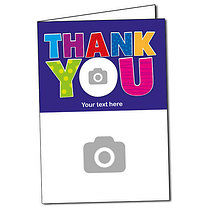 Upload Your Own Thank You Greeting Card