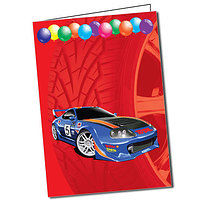 Personalised Car A5 Greeting Card