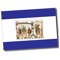 Personalised A6 Bayeux Tapestry Postcard