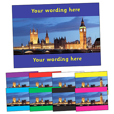 Personalised Parliament Postcard (A6)