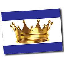 Personalised A6 Crown Postcard