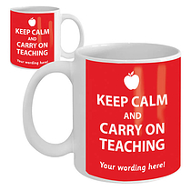 Personalised Keep Calm Ceramic Mug