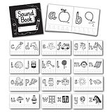 Pedagogs Colouring Phonics Book - Initial Sound (30 Books - 10cm x 10cm)