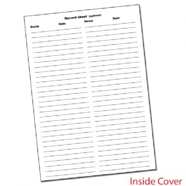 60 Page 'Worked Really Hard' Tiger A6 Note Home Praisepad