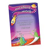 60 Page 'Excellent Work' Aliens Scene A6 Praisepad