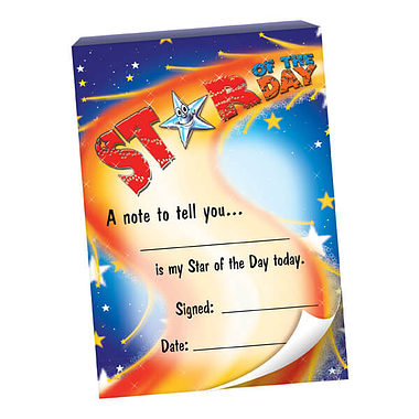 60 Page Star of the Day A6 Praisepad