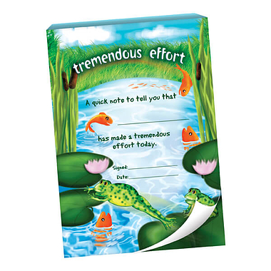 Tremendous Effort Praisepad - Pond Scene (60 Pages - A6)